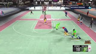 NBA2K20 (i dunked on him and made him fall)