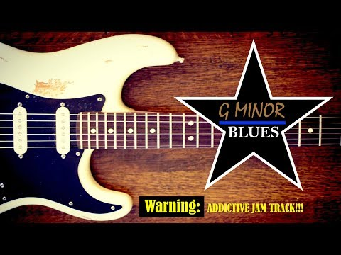 Down & Dirty Blues Jam Backing Track // G Minor