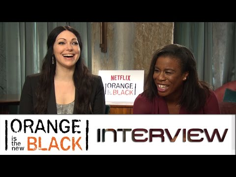 Orange is the New Black: Interview mit Laura Prepon und Uzo Aduba | Netflix