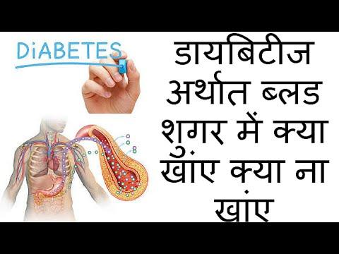 डायबिटीज अर्थात ब्लड शुगर में क्या खांए क्या ना खांए | Blood Sugar - What to Eat & What to Not Eat