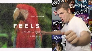 """FEELS"" CALVIN HARRIS FEAT. PHARRELL WILLIAMS, KATY PERRY & BIG SEAN - Reaction/Review"