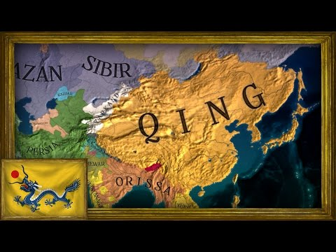 EU4 - Timelapse - Rise of my Qing Colonial Empire |