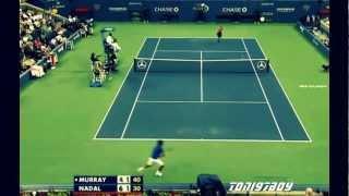 Nadal vs Murray US Open 2011 [HD]
