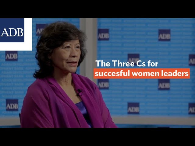 The Three Cs for successful women leaders