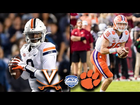 Virginia Vs. Clemson: 2019 ACC Championship Game Preview