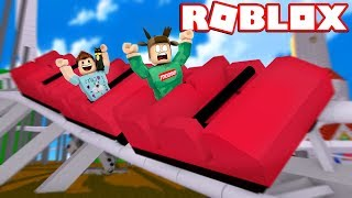 BUILDING THE BEST ROLLER COASTER IN ROBLOX! (Roblox Theme Park Tycoon 2)