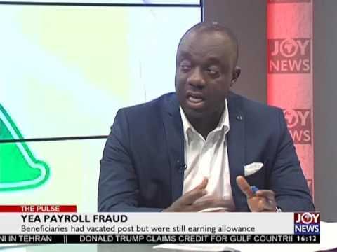 YEA Payroll Fraud - The Pulse on JoyNews (7-6-17)