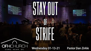 Stay Out of Strife