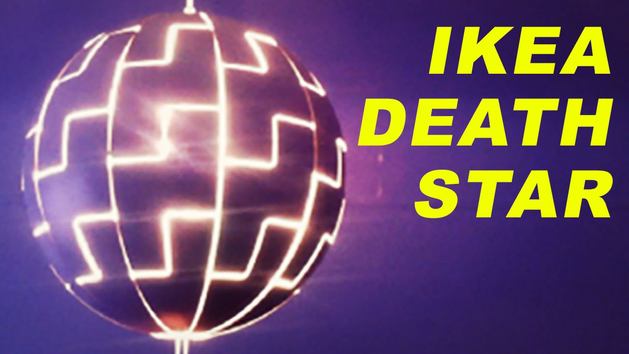 ikea death star youtube. Black Bedroom Furniture Sets. Home Design Ideas