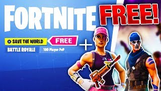 Fortnite GRATUIT Save The World RELEASE DATE - SECRET FREE SKINS! Fortnite sauve le monde
