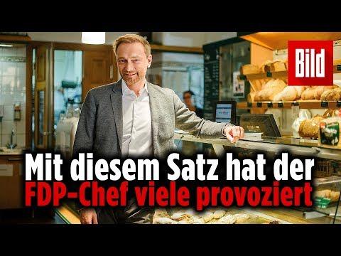 """""""Wie kamen sie auf den Bäckerei-Vergleich, Herr Lindner?"""""""