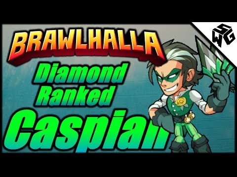 Diamond Ranked Caspian 1v1's - Brawlhalla Gameplay :: So Many Caspians!