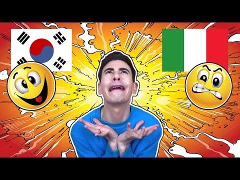 5 cose che ODIO dell' ITALIA   COREA VS ITALIA