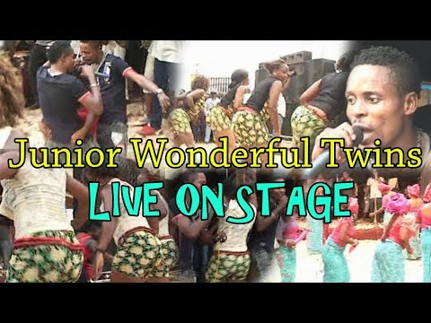 Junior Wonderful Twins of Benin Live On Stage (Benin Music Live on Stage)