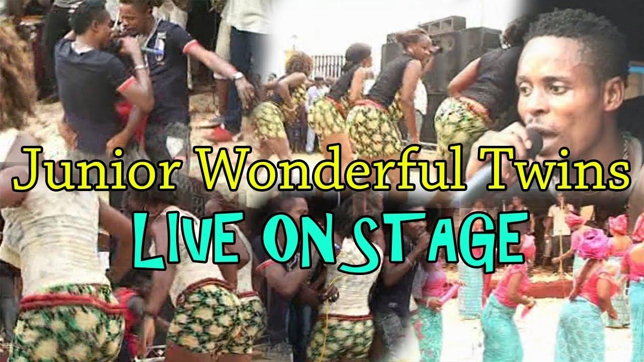 Download Junior Wonderful Twins of Benin Live On Stage (Benin Music Live on Stage)
