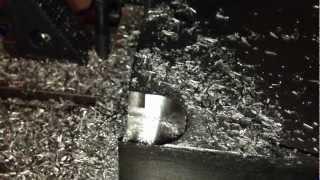 titanium machining on a small cnc mill