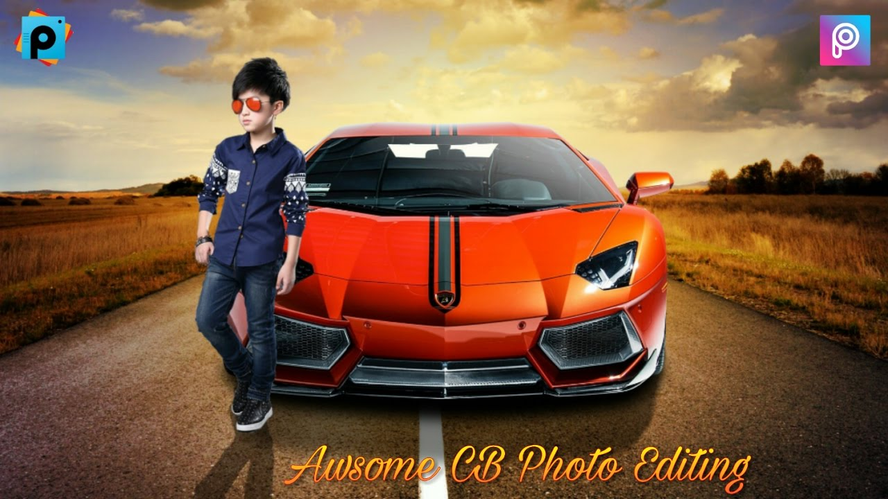 Background Photo Editing Car Wallpaper