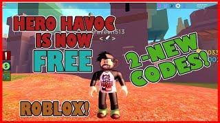 [NOW FREE] HERO HAVOC AND 2 BONUS CRAZY CODES   Roblox