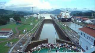 Baixar Panama Canal Full Transit in 5-minutes,  Cruzando el Canal de Panama en 5 minutos