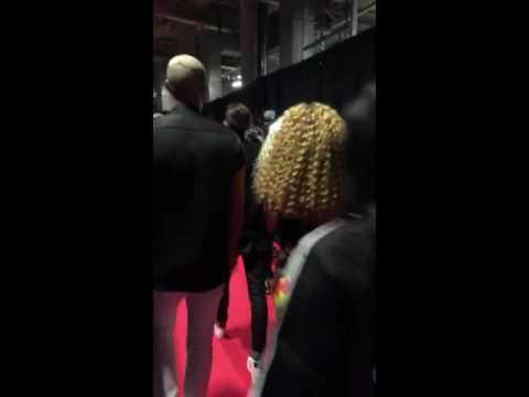 """Summertime Ball's backstage!"" John Newman & Sigala on Sigala's snapchat"