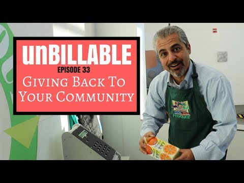 GIVING BACK TO YOUR COMMUNITY | UNBILLABLE E33