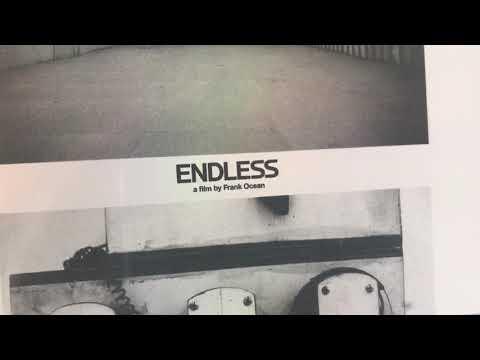 Frank Ocean - Endless (CD & DVD) Unboxing