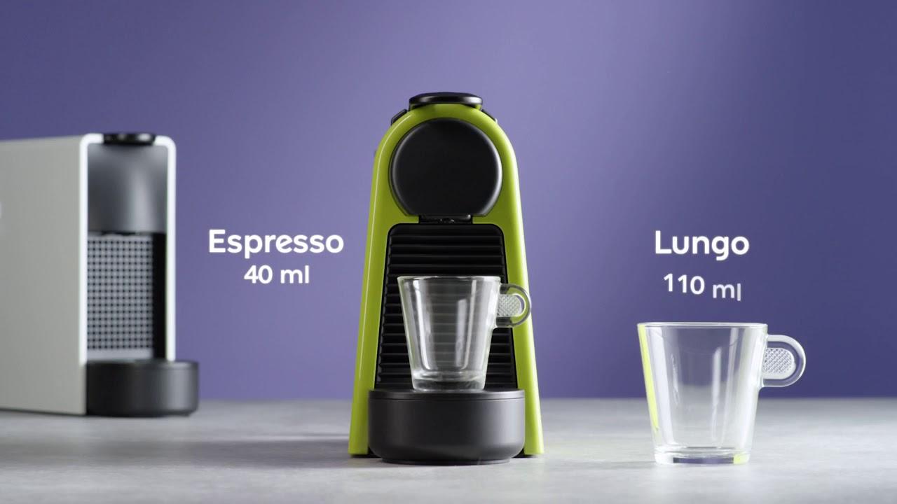 video Krups Nespresso Apparaat Essenza Mini XN1101 Koffiecupmachine – Wit