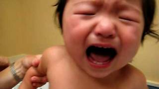 baby s fourth vaccine shot 12 5 months
