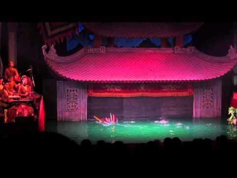 Vietnamese water Opera - Hanoi, Vietnam