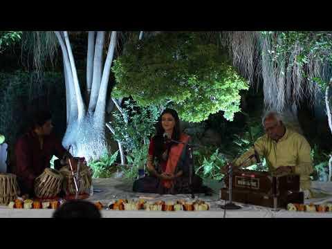 Ms. Nirali Kartik gives a vocal recital of Raga Bageshri (first part) in Varanasi on Feb 25, 2018