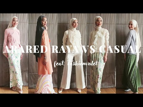 [VIDEO] - ARARED 2019 RAYA LOOKBOOK TO CASUAL WEAR 1