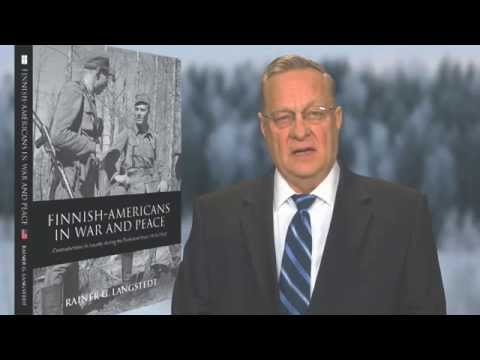 Rainer Langstedt presents his book Finnish Americans in War and Peace
