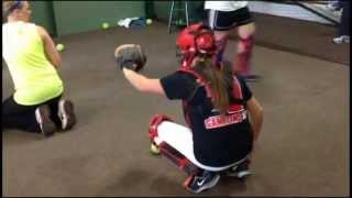 Madison Perrigan 2016 Catcher Drills