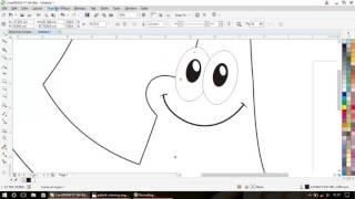 tutorial corel draw menggambar pattrick