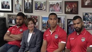 Mate Ma'a Tonga Reception - Consulate General Of The Kingdom Of Tonga