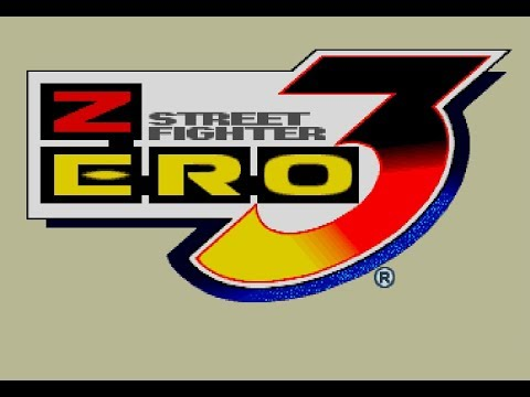 TITLE DEMO - STREET FIGHTER ZERO3 for PS on PS3