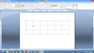 Word 2007 - Tablo nasıl eklenir