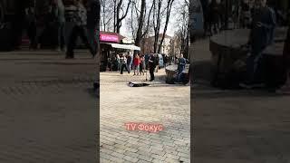 Уличный музыкант в Киеве. #shorts