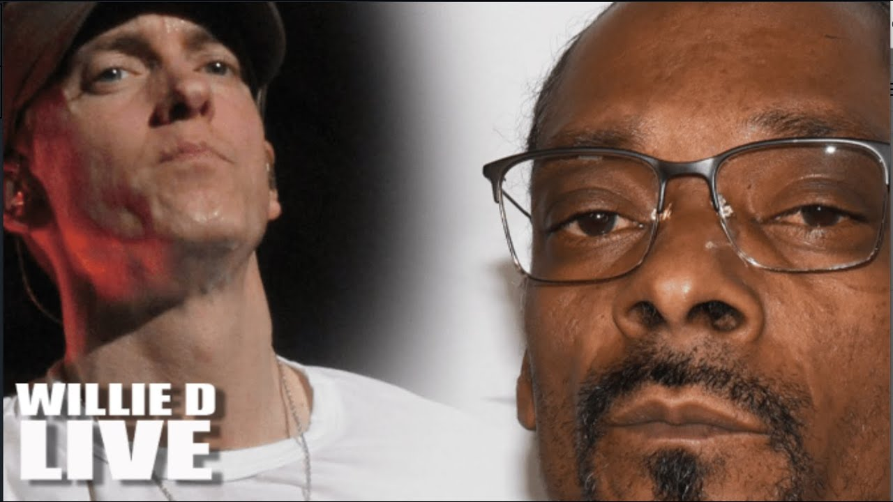 Download Snoop Dogg: Eminem Is NOT A Top 10 Rapper   He's 'The Great White Hype'!!