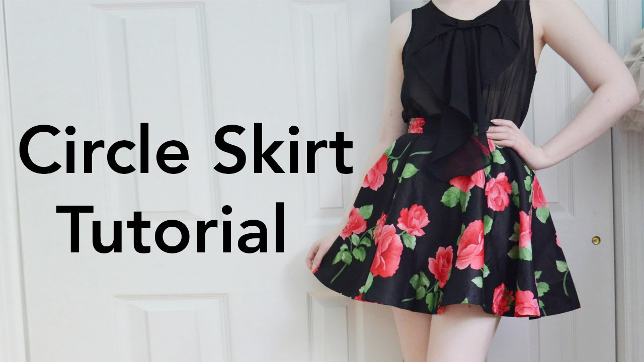How to Make a Circle Skirt : Tutorial - YouTube