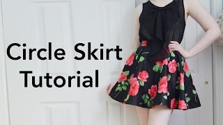 How to Make a Circle Skirt : Tutorial