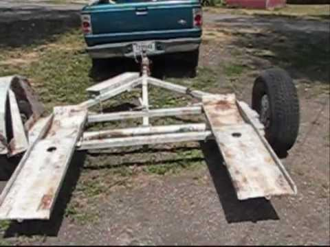 My New 2 Me Tow Dolly Youtube