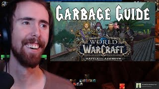 """Asmongold Reacts To """"Garbage Guide To Warcraft: Battle For Azeroth"""" By Kilian Experience"""
