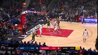 1st Quarter, One Box Video: Los Angeles Clippers vs. Utah Jazz