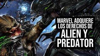 MARVEL COMICS ADQUIERE LOS DERECHOS DE ALIEN Y PREDATOR