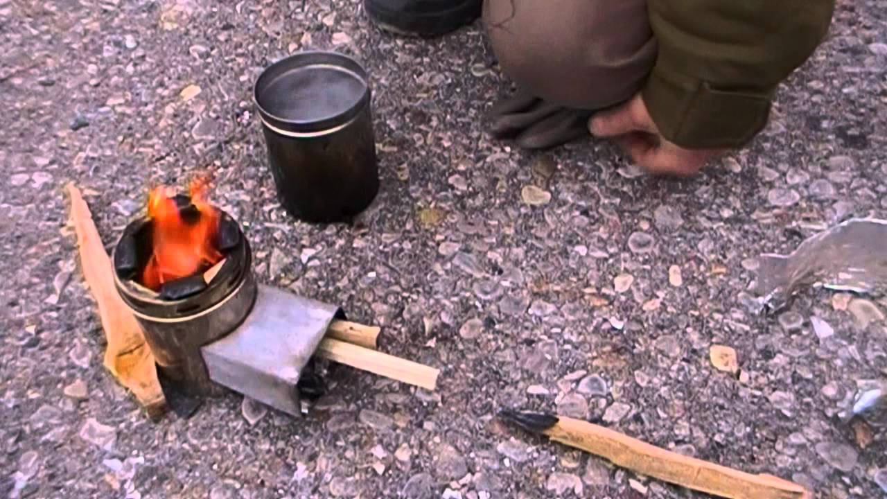 How To Micro Rocket Stove Urban Survival Youtube