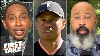 Stephen A. & Michael Collins on Tiger Woods' statement on George Floyd | First Take