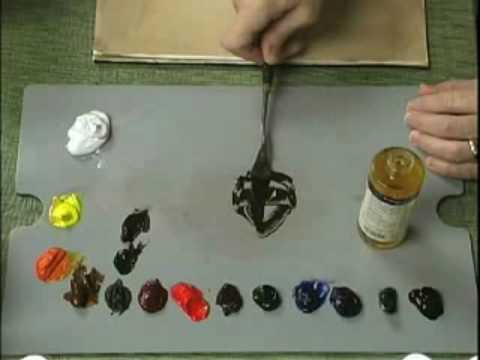 Mixing Oil Paints With Mediums
