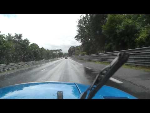 Le Mans Classic 2012.Tour du circuit en DB