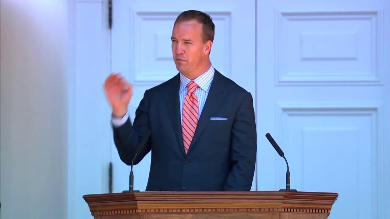 peyton manning uva graduation speech
